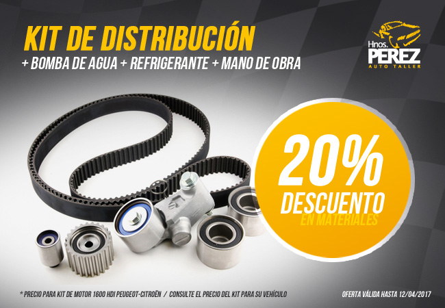 PEREZ oferta Kit Distribucion